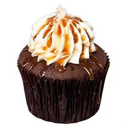 Salted caramel cupcake thumbnail
