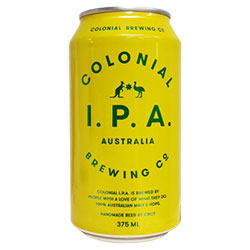 Colonial Brewing Co. IPA Can 375ml thumbnail