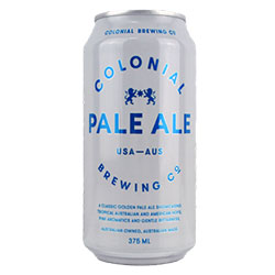 Colonial Brewing Co Pale Ale Can 375ml thumbnail
