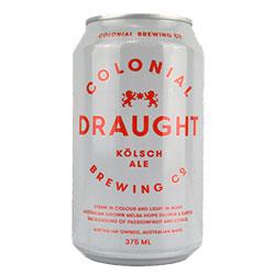 Colonial Brewing Draught Kolsch Can 375ml thumbnail