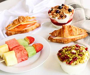 Gourmet breakfast platter thumbnail