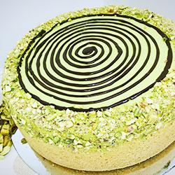 Pistachio cheesecake - 10 inches - serves up to 16 thumbnail