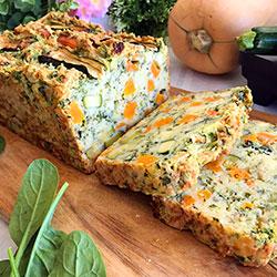 Pumpkin and spinach loaf thumbnail