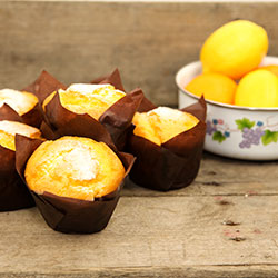 Lemon gourmet muffin - box of 6 thumbnail