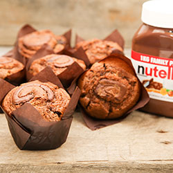 Nutella gourmet muffin - box of 6 thumbnail