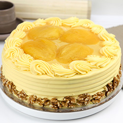 Banana and mango cake thumbnail