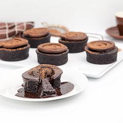 Chocolate explosion mud cake - 3 inch - box of 6 thumbnail