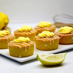 Flourless lemon cake - 3 inch - box of 6 thumbnail