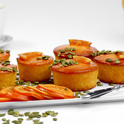Flourless orange and almond cake - 3 inch - box of 6 thumbnail