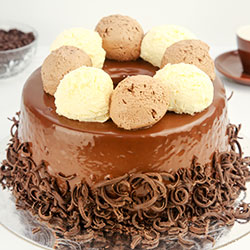 Mountain mousse cake - 12 inches - serves up to 22 thumbnail