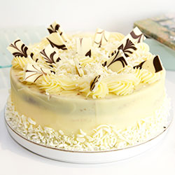 White chocolate mudcake thumbnail