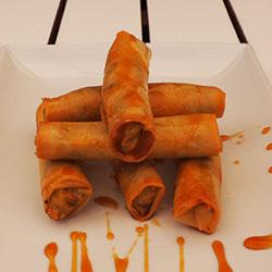 Thai spiced chicken spring roll thumbnail