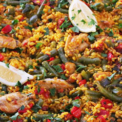 Chicken and chorizo paella thumbnail