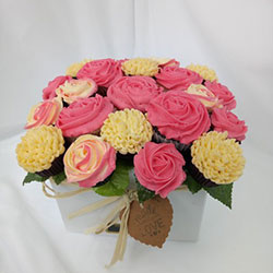 Special dietary cupcake bouquets thumbnail