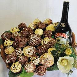 Celtic deluxe cupcake basket thumbnail