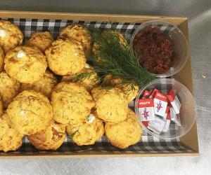 Gluten free savoury baked muffin  thumbnail