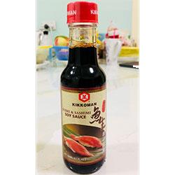 Kikkoman soy sauce - 150ml thumbnail