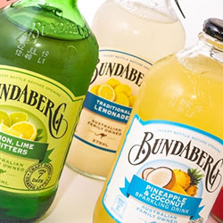Bundaberg flavoured mineral water - 375ml thumbnail