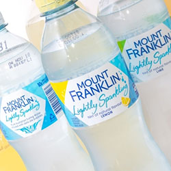 Mount franklin sparkling water - 450ml thumbnail