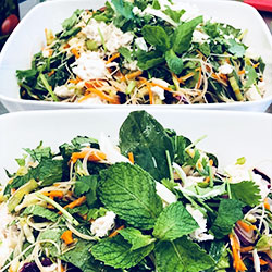 Vietnamese rice noodle salad thumbnail