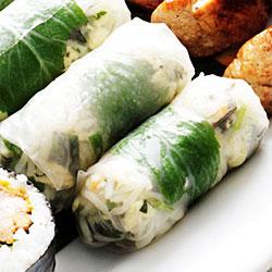 Rice paper rolls - mini thumbnail
