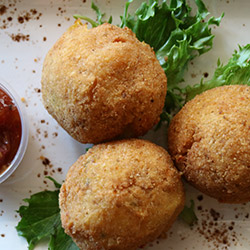 Pumpkin and cumin arancini thumbnail