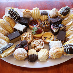 Assorted cakes, biscuits and muffins thumbnail