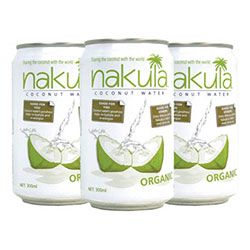 Nakula organic coconut water - 250ml thumbnail