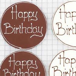 Happy birthday or custom plaque thumbnail