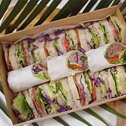 Combo wrap and sandwich platter thumbnail