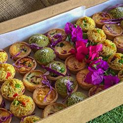 Savoury tartlets - mini thumbnail