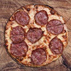 Salami pizza thumbnail