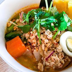 Thai noodle soup thumbnail