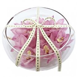 Cymbidium orchid in float dish thumbnail