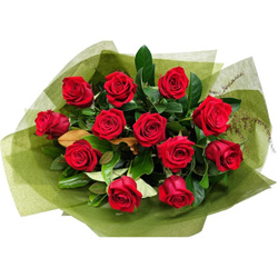 Roses in gift wrap thumbnail