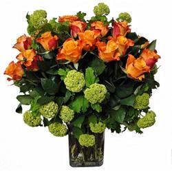 Seasonal rose arrangement thumbnail