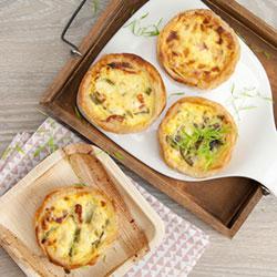 Breakfast quiche thumbnail