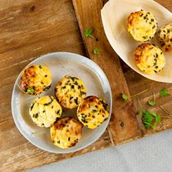 Caramelised onion frittata thumbnail