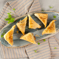 Spinach and feta filo pastry thumbnail
