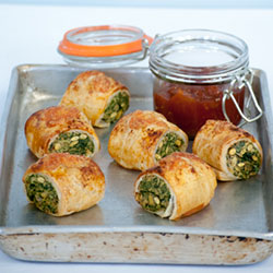 Spinach and ricotta roll - mini thumbnail