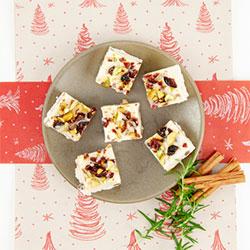 White Christmas slice thumbnail