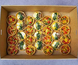 Vegetarian quiches thumbnail