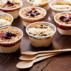 Healthy breakfast cups - 150 ml thumbnail