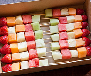 Seasonal fruit skewers thumbnail