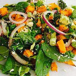 Pumpkin and feta salad thumbnail