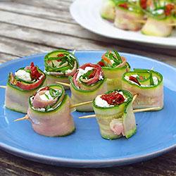 Zucchini rolls thumbnail