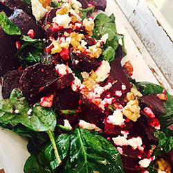 Beetroot and walnut salad thumbnail