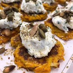 Pumpkin blini thumbnail