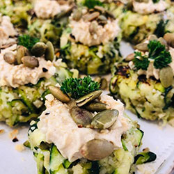 Zucchini fritter thumbnail