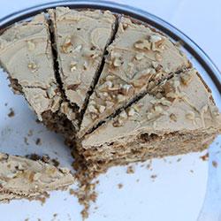 Walnut espresso cake - 10 inches - serves 15 thumbnail